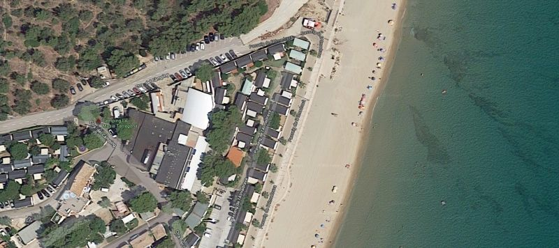 vista satelite camping la masia